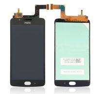 Motorola Moto G5 kompatibilis LCD modul, OEM jellegű, fekete, Grade S+