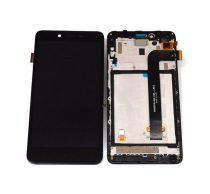Xiaomi Mi Note 2 kompatibilis LCD modul kerettel, OEM jellegű, fekete, Grade S+