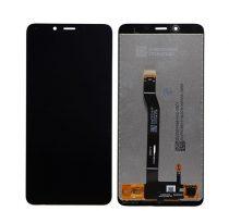 Xiaomi Redmi 6 kompatibilis LCD modul, OEM jellegű, fekete, Grade S+