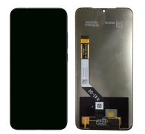Xiaomi Redmi Note 7 kompatibilis LCD modul, OEM jellegű, fekete, Grade S+