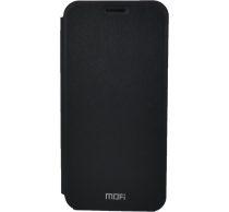 Mofi Mintás PU Bőr flip tok Xiaomi Redmi Note 6, fekete