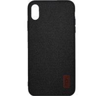 Mofi Szövet hátlap tok Xiaomi Redmi Go, fekete