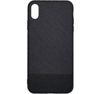 Mofi Mintás Szövet hátlap tok Xiaomi Redmi Note 6, fekete