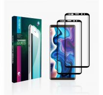Goldspin Xiaomi Mi Play Nano Silk teljes kijelzős üvegfólia, fekete