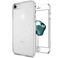 Xiaomi Mi 8 Lite, Műanyag hátlap tok, Átlátszó