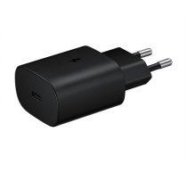 Samsung EP-TA800XB Type-C hálózati gyorstöltő, Type-C kábellel, 25W, fekete