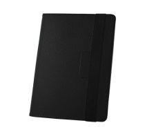 GreenGo univerzális oldalra nyíló tok 8-9 colos tablethez, fekete