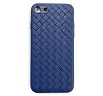 Apple iPhone X Braided szilikon hátlap tok, kék