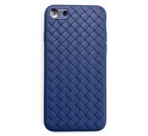 Xiaomi Mi 8 Braided szilikon hátlap tok, kék