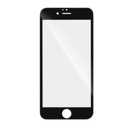 Huawei P Smart (2020), 5D Full Glue hajlított tempered glass kijelzővédő üvegfólia, fekete