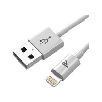 Rampow Lightning MFi adatkábel, 1m, fehér