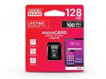128 GB microSDXC™ UHS-I U1 Class 10 memóriakártya 100/10 + SD adapter