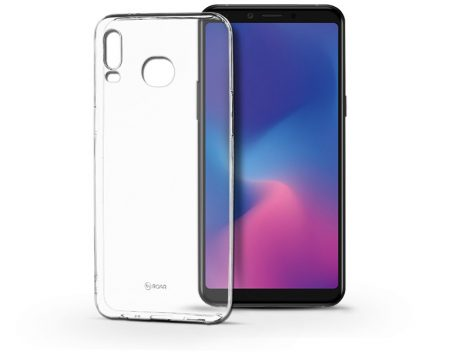 Samsung G6200 Galaxy A6s (2018) szilikon hátlap - Roar All Day Full 360 - transparent