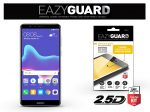 Huawei Y9 (2018) gyémántüveg képernyővédő fólia - Diamond Glass 2.5D Fullcover - fekete