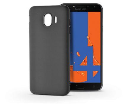 Samsung J400F Galaxy J4 (2018) szilikon hátlap - Soft - fekete