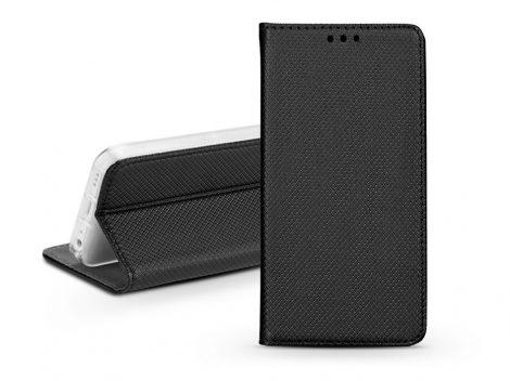 S-Book Flip bőrtok - Xiaomi Redmi Note 9T 5G  - fekete